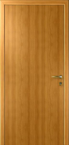 Дверь Капель Гладкая Орех Миланский