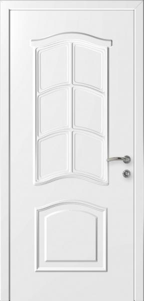 Дверь Капель  Лилия Белая