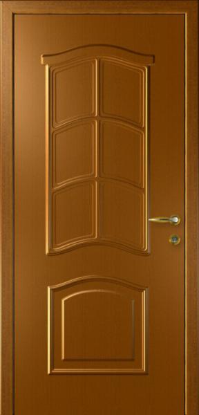 Дверь Капель Лилия Дуб Золотой